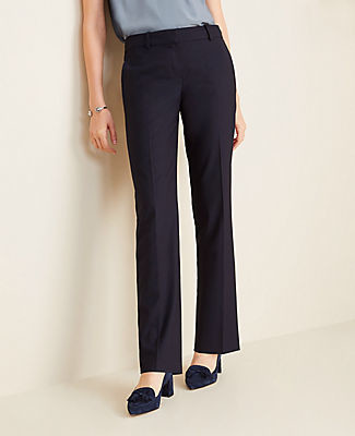 Ann Taylor The Straight Pant in Tropical Wool - Curvy Fit