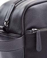 Leather And Nylon Wash Bag