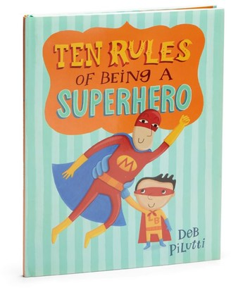 Macmillan Ten Rules of Being a Superhero Book