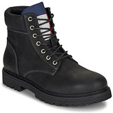 Tommy Jeans TOMMY JEANS OUTDOOR NUBUCK BOOT men's Mid Boots in Black