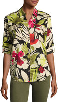 Tommy Bahama Victoria Blooms Floral-Print Linen Shirt, Multi