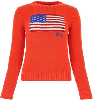 Polo Ralph Lauren Flag Intarsia Sweater