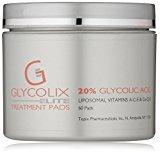 Glycolix Elite 20% Glycolic Acid Treatment Pads, 60 Count