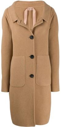 No.21 Open Collar Coat
