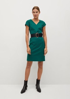 MANGO Tailored short dress