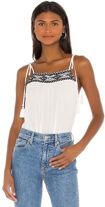 1 STATE Embroidered Gauze Cami