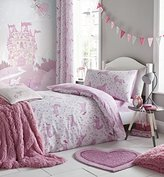 Catherine Lansfield Folk Unicorn Junior Duvet Set, Pink