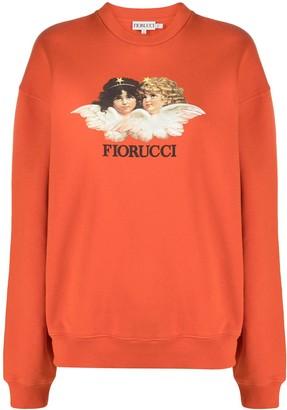 Fiorucci Vintage Angels organic cotton sweatshirt