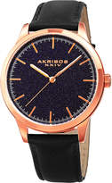 Akribos XXIV Men's Genuine Stone Dial Watch, 41mm