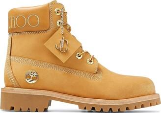 Jimmy Choo x Timberland logo boots