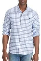 Polo Ralph Lauren Plaid Cotton Casual Button-Down Shirt