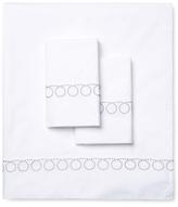 Melange Home Loops Embroidery Sheet Set