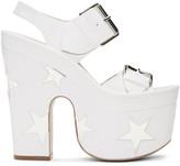 Stella McCartney White Star Sandals