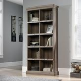Sauder Barrister Lane Collection Salt Oak Finish 10-Shelf Tall Bookcase