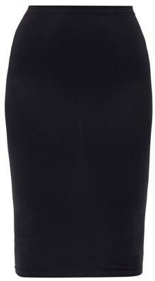 Wolford Fatal Jersey Midi Skirt - Black