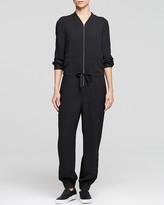 L'Agence LA't by Jumpsuit - Double Chest Pocket