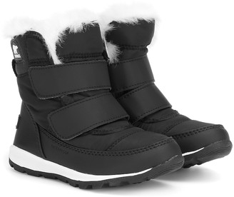 Sorel Kids Whitney shearling-lined boots