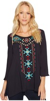 Roper 1007 Cotton Rayon Lawn Tunic Women's Blouse