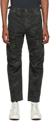 Ksubi Green Frequency Camo Cargo Pants