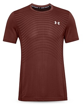 Under Armour Seamless Wave Mesh Performance Tee