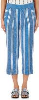 Ace&Jig Women's Atlantic Pants-BLUE, WHITE