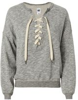 NSF Lace-Up Sweatshirt