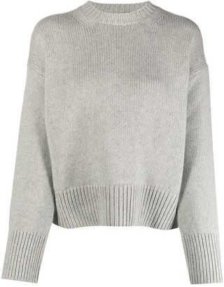Ralph Lauren Purple Label Crew-Neck Intarsia-Knit Jumper