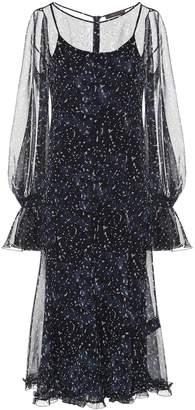 Max Mara Pavia silk chiffon dress