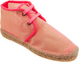 Stella McCartney Mesh Espadrille Ankle Boot