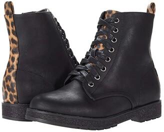 Mia Reeva (Little Kid/Big Kid) (Black) Girl's Shoes