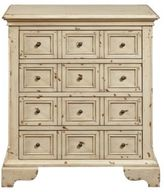 Home Meridian Distressed Accent 4-Drawer Chest