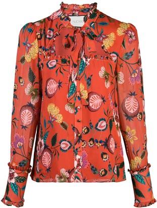 Alexis Elodie floral print top