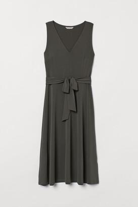 H&M Dress with Tie Belt