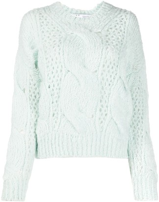 IRO Chunky Cable Knit Sweater