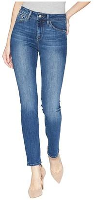 Mavi Jeans Kendra High-Rise Straight Leg in Indigo Supersoft (Indigo Supesoft) Women's Jeans