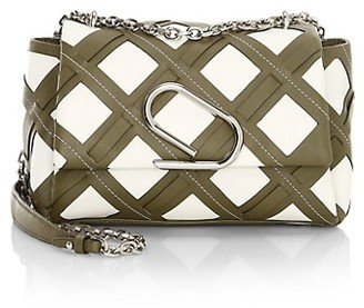 3.1 Phillip Lim Alix Cage Cutout Leather Shoulder Bag