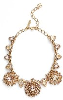 Oscar de la Renta Women's 'Tiered Crystal' Necklace