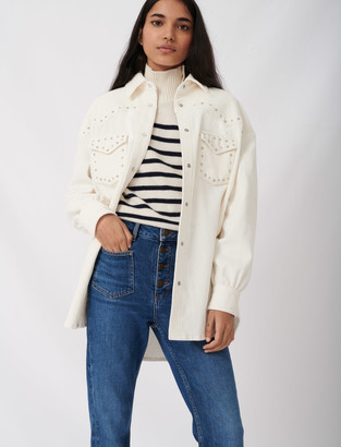 Maje Jeans with pockets