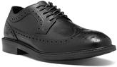 Dunham Black Grayson Leather Oxford - Men