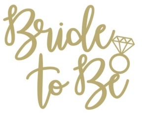 WallPops! WallPops Bride To Be Wall Quote