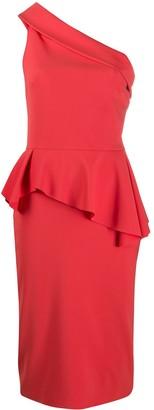 Le Petite Robe Di Chiara Boni One-Shoulder Draped Dress