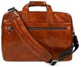 Bosca Leather Stringer Brief Case