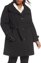 Gallery Plus Size Women's Waffle Woven Coat