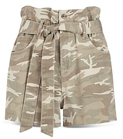 AllSaints Hannah Paperbag Shorts