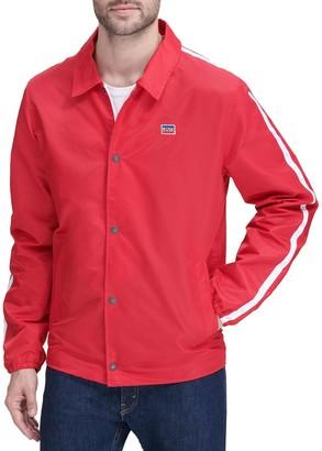 Levi's Men's Flight Satin Coaches Jacket