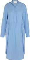 Cédric Charlier Cotton-poplin Dress - Blue
