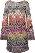 Missoni fringed jumper dress