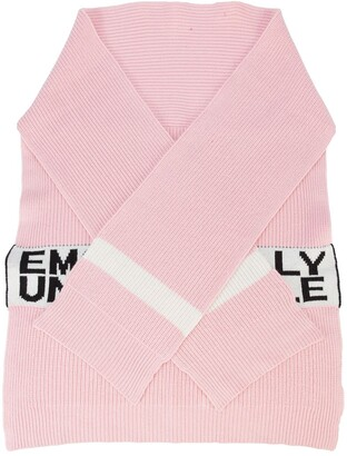 Haculla Emotionally unavailable knit scarf