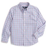 Vineyard Vines Boy's Dering Check Woven Shirt