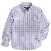 Vineyard Vines Toddler Boy's Dering Check Woven Shirt